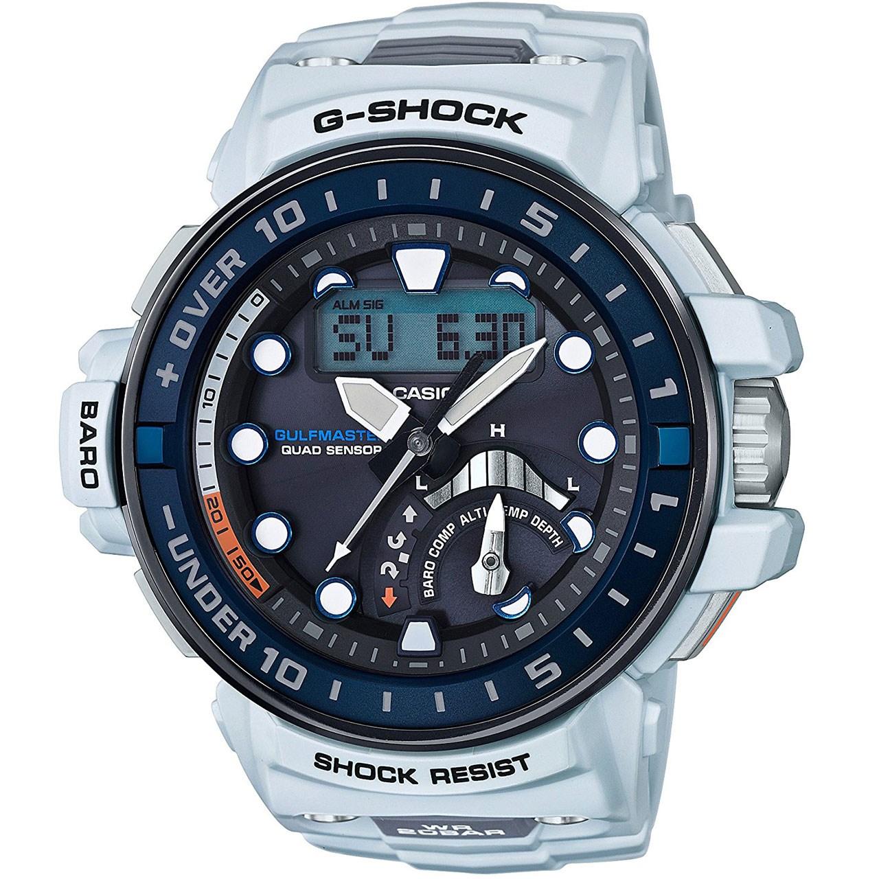 ساعت مچی عقربه ای مردانه کاسیو مدل GWN-Q1000-7ADR 85