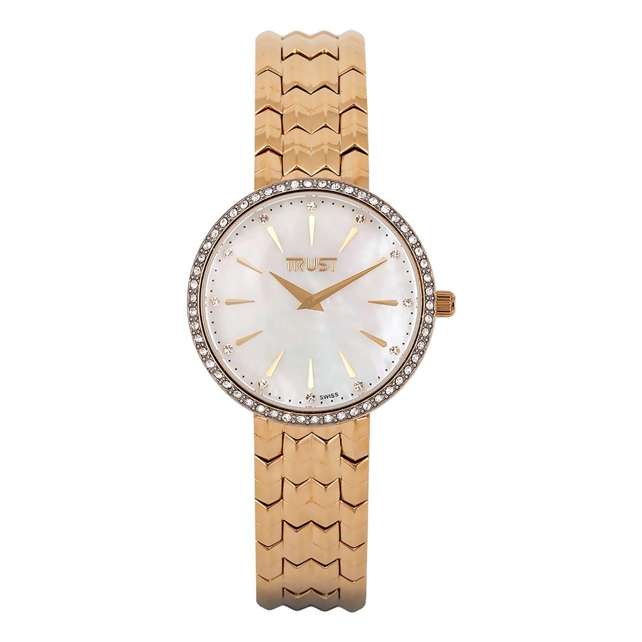 ساعت مچی عقربه ای زنانه تراست مدل L451BYK