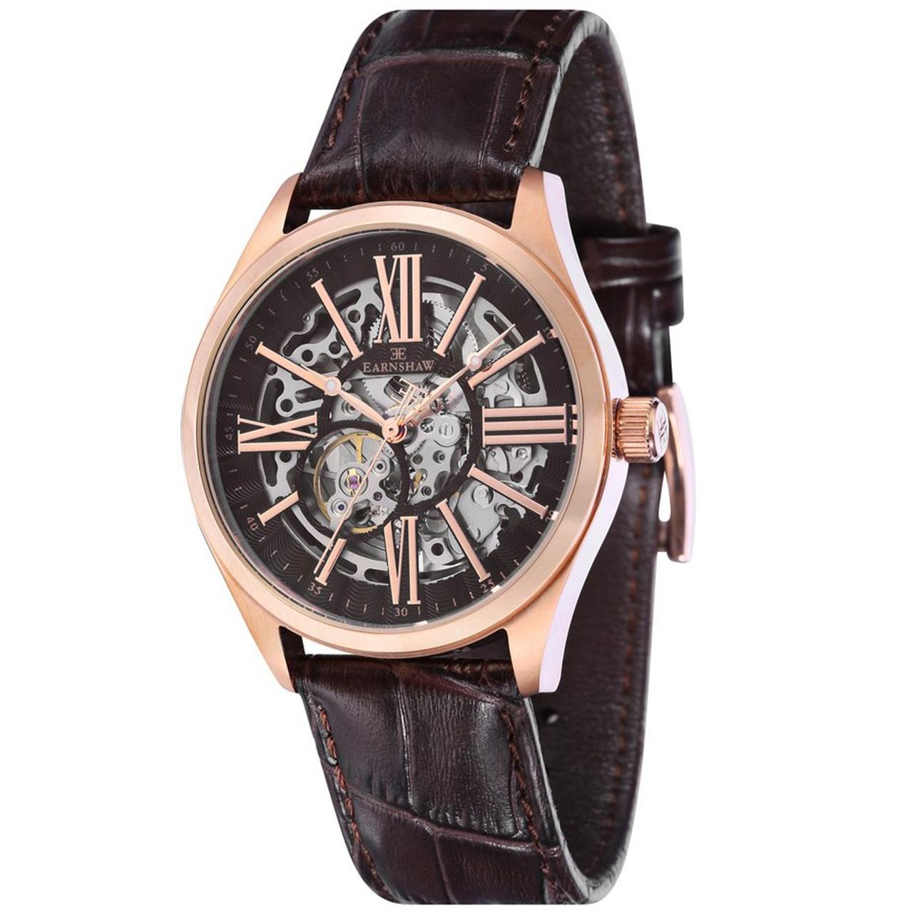 ساعت مچی عقربه ای مردانه ارنشا مدل ES-8037-05 14