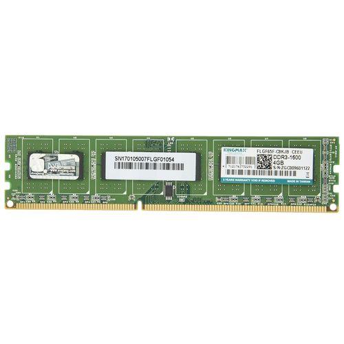 رم دسکتاپ DDR3 تک کاناله 1600 مگاهرتز کینگ مکس ظرفیت 4 گیگابایت