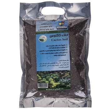 خاک کاکتوس گلباران سبز بسته 1 کیلوگرمی