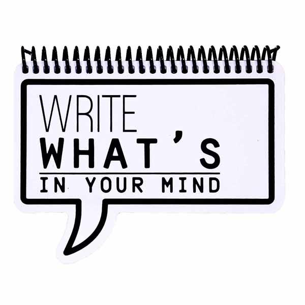 دفتر یادداشت دات نوت مدل Whats in your mind