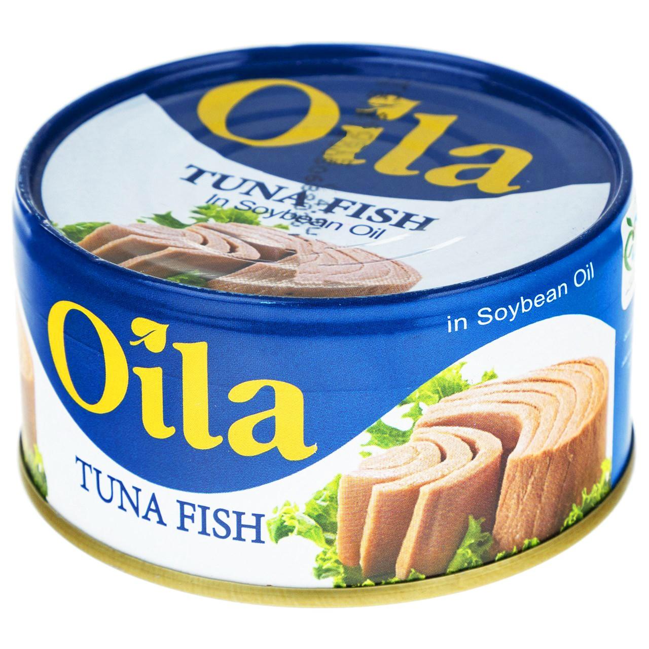 تن ماهی در روغن سویا اویلا - 180 گرم