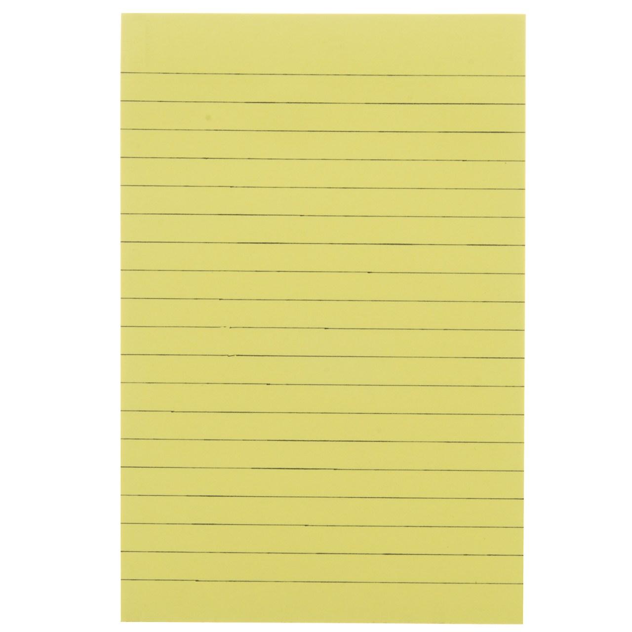 کاغذ یادداشت چسب دار فنس کد 9205  بسته 100 عددی