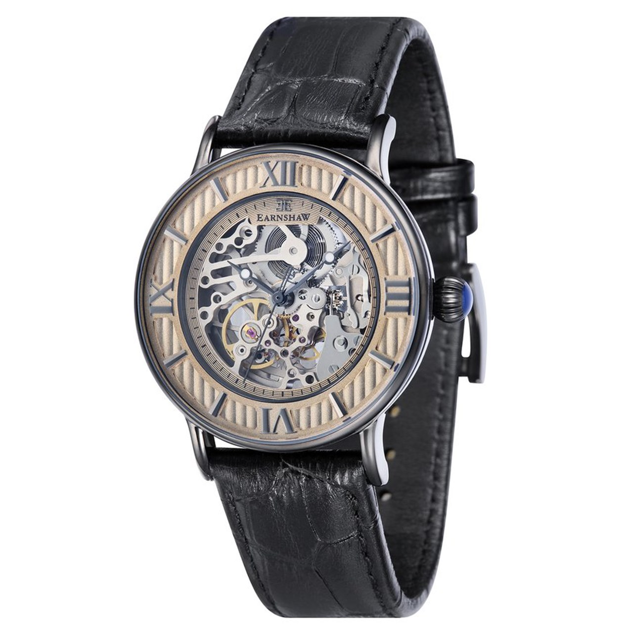 ساعت مچی عقربه ای مردانه ارنشا مدل ES-8038-05 14