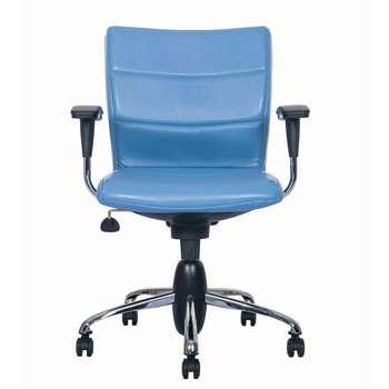 صندلی اداری نیلپر مدل SK603g چرمی