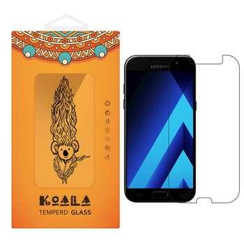محافظ صفحه نمایش شیشه ای کوالا مدل Tempered مناسب برای گوشی موبایل سامسونگ Galaxy A5 2017