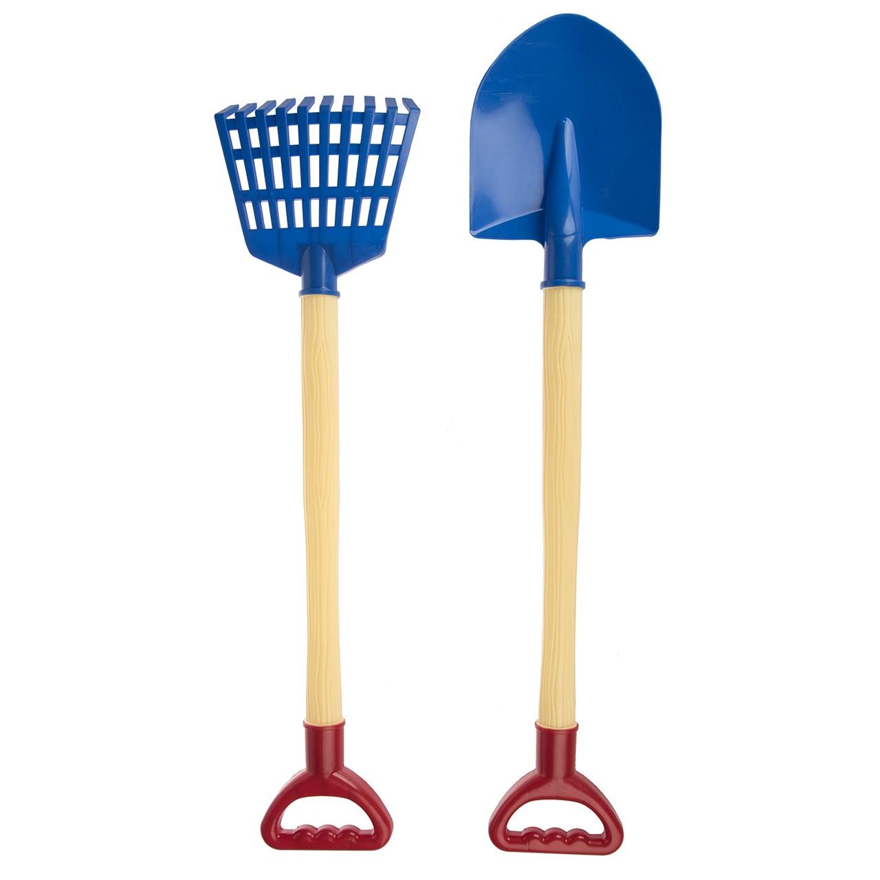 ابزار شن بازی زرین تویز مدل Shovels And Rakes E1