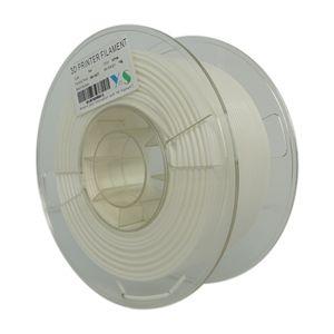 فیلامنت پرینتر سه بعدی PLA  یوسو  سفید  3.0  میلیمتر 1 کیلو