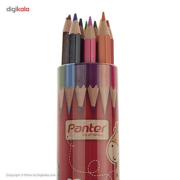 مداد رنگی 12 رنگ پنتر سایز کوچک main 1 2