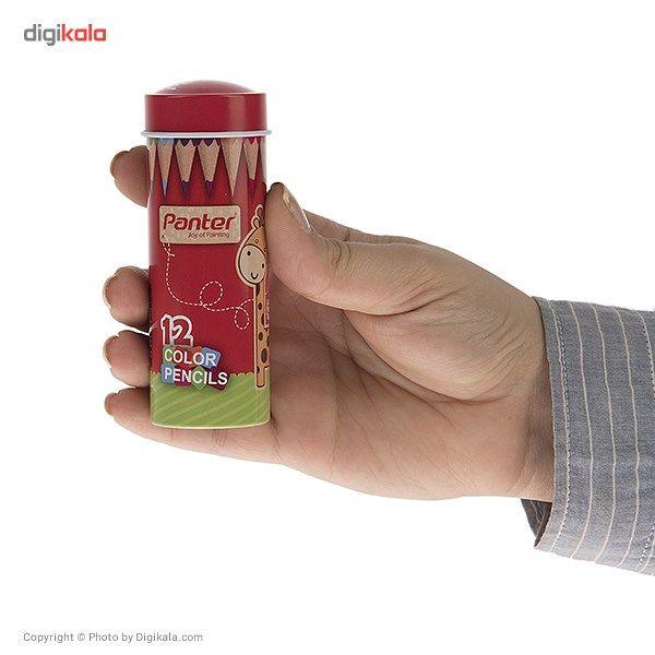 مداد رنگی 12 رنگ پنتر سایز کوچک main 1 3