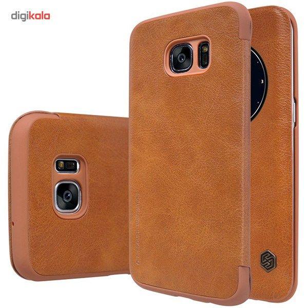کیف کلاسوری نیلکین مدل Qin مناسب برای گوشی موبایل سامسونگ Galaxy S7 Edge main 1 9
