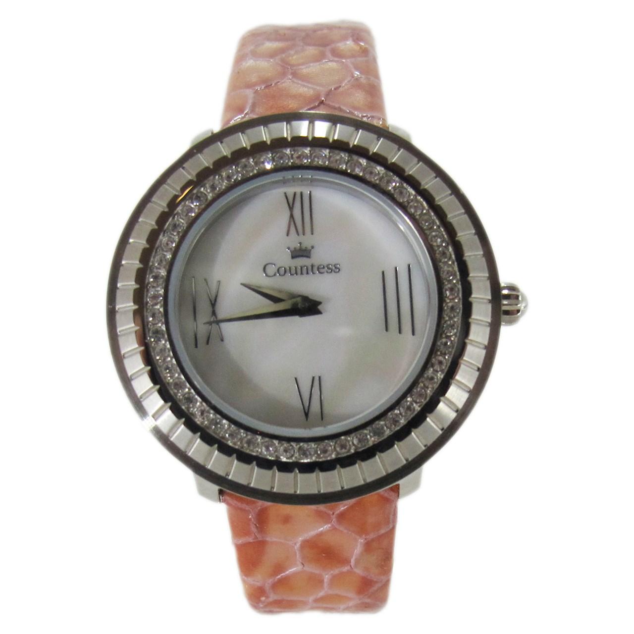ساعت مچی عقربه ای زنانه کنتس مدل CTS14606A