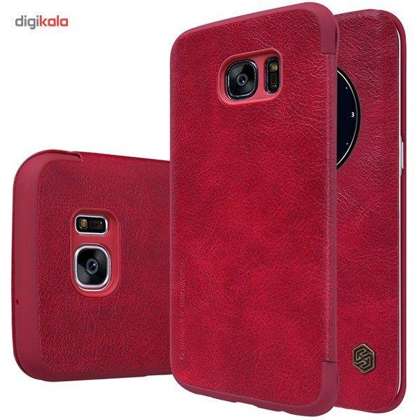 کیف کلاسوری نیلکین مدل Qin مناسب برای گوشی موبایل سامسونگ Galaxy S7 Edge main 1 10