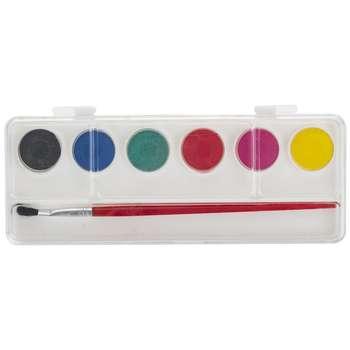 آبرنگ 6 رنگ آریا مدل 5001B