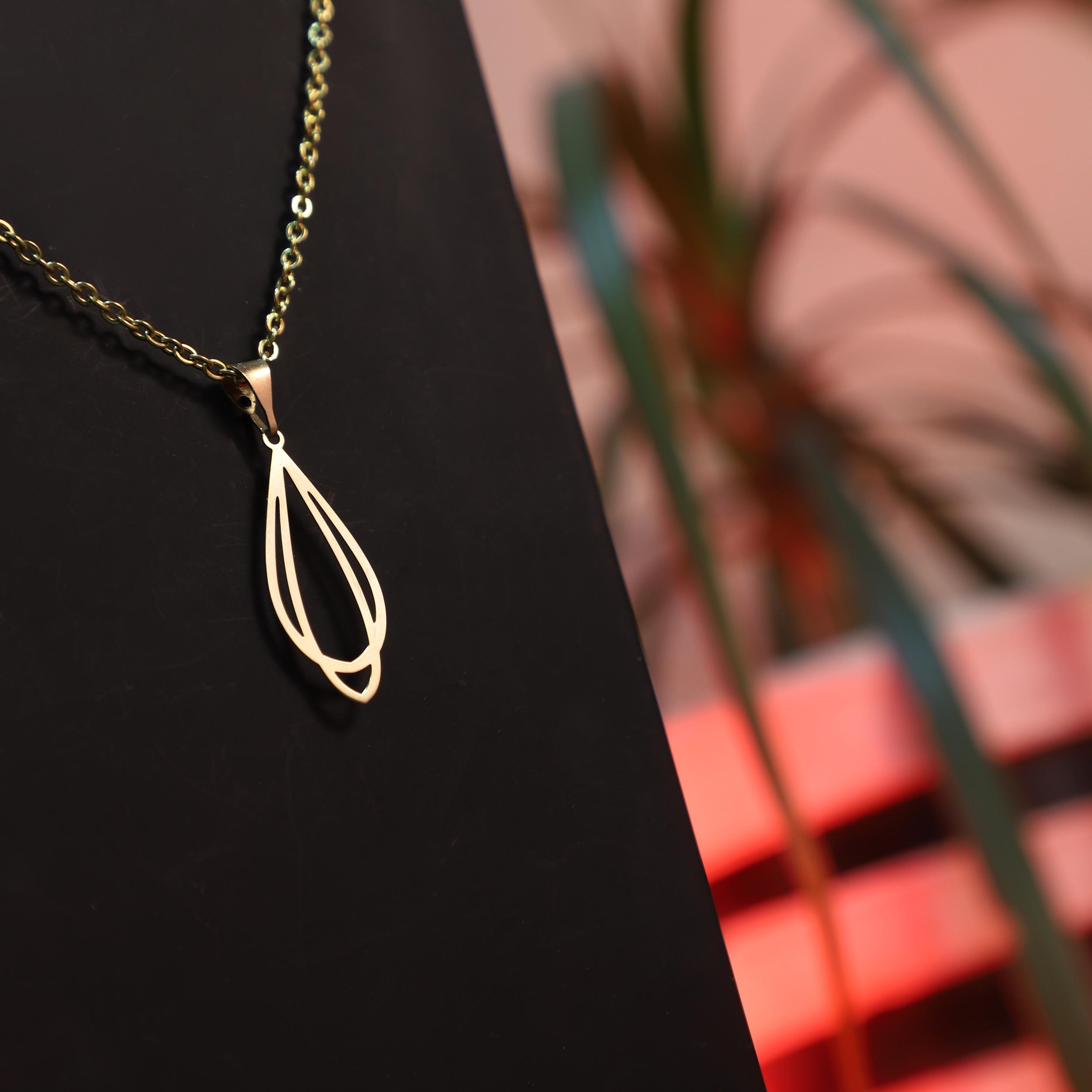 گردنبند طلا 18عیار زنانه آمانژ کد D10014