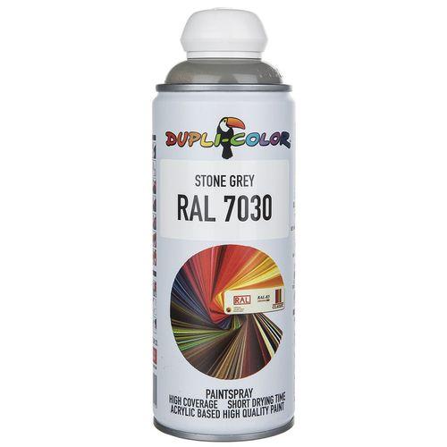 اسپری رنگ خاکستری دوپلی کالر مدل RAL 7030 حجم 400 میلی لیتر