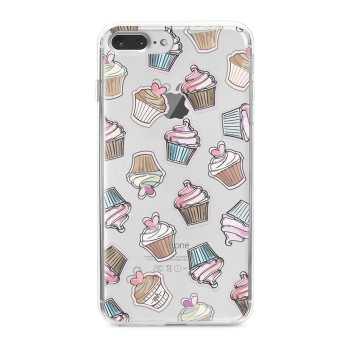 کاور  ژله ای مدل Cupcake مناسب برای گوشی موبایل آیفون 7 پلاس و 8 پلاس