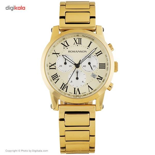 خرید ساعت مچی عقربه ای مردانه رومانسون مدل TM0334HM1GB85B