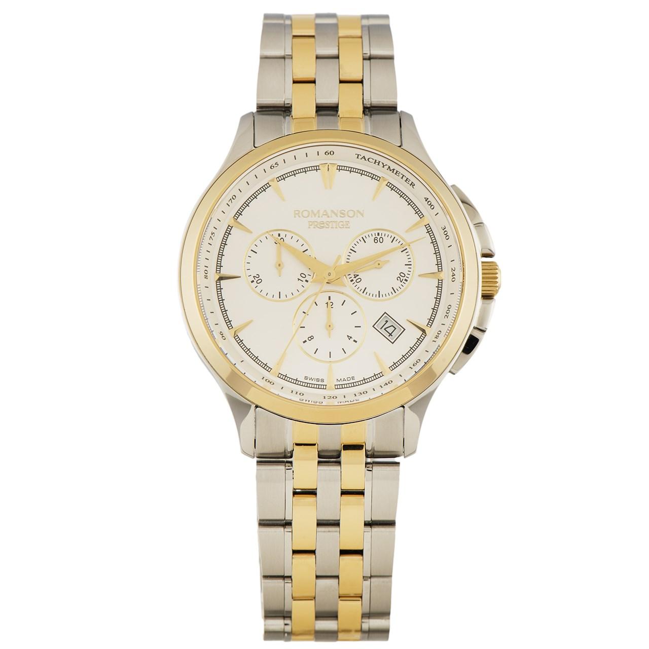 ساعت مچی عقربه ای مردانه رومانسون مدل TM3258HM1CAS1G 30