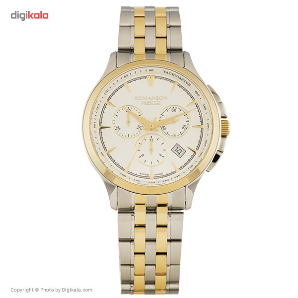 ساعت مچی عقربه ای مردانه رومانسون مدل TM3258HM1CAS1G