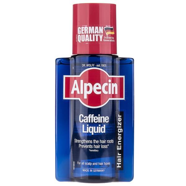 محلول تقویت کننده مو آلپسین مدل Caffeine  حجم 200 میلی لیتر