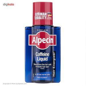 محلول تقویت کننده مو آلپسین مدل Caffeineحجم 200 میلی لیتر  Alpecin Caffeine Liquid 200ml