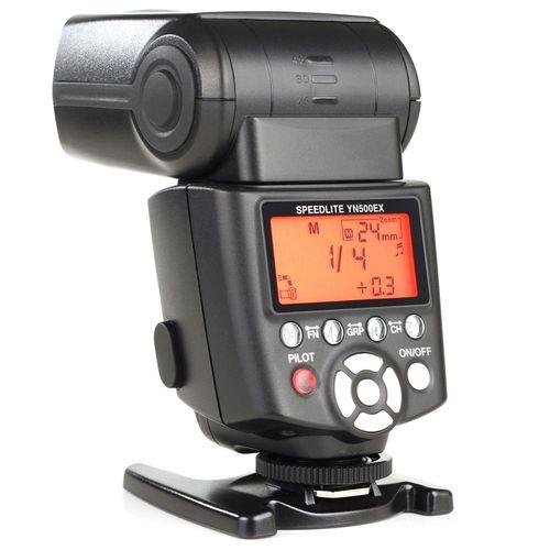 فلاش دوربین یونگنو مدل SpeedLite YN500EX