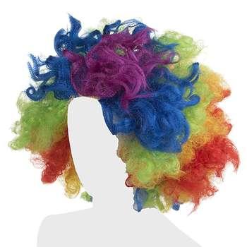 کلاه گیس نمایشی مدل Rainbow