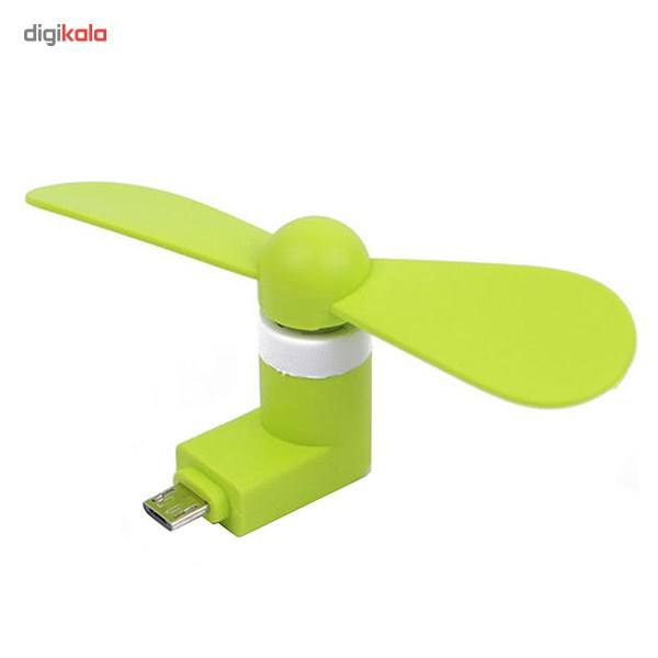 پنکه همراه مدل OTG Mini USB main 1 1