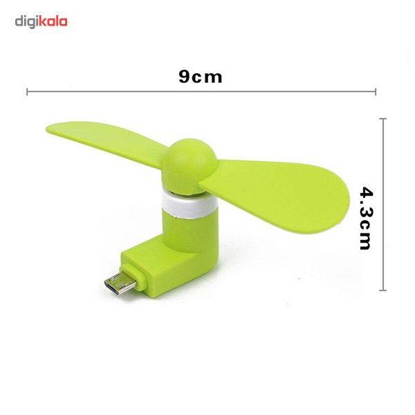 پنکه همراه مدل OTG Mini USB main 1 2