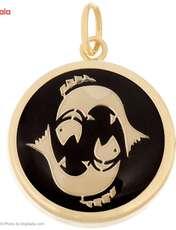 آویز گردنبند طلا 18 عیار ماهک مدل MM0336 - مایا ماهک -  - 2
