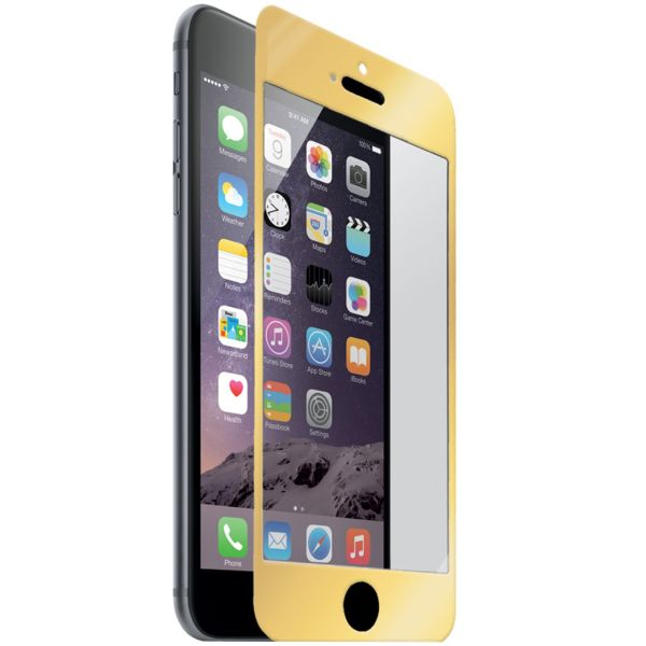 محافظ صفحه نمایش شیشه ای نزتک مدل Tempered مناسب برای گوشی موبایل آیفون 6/6s