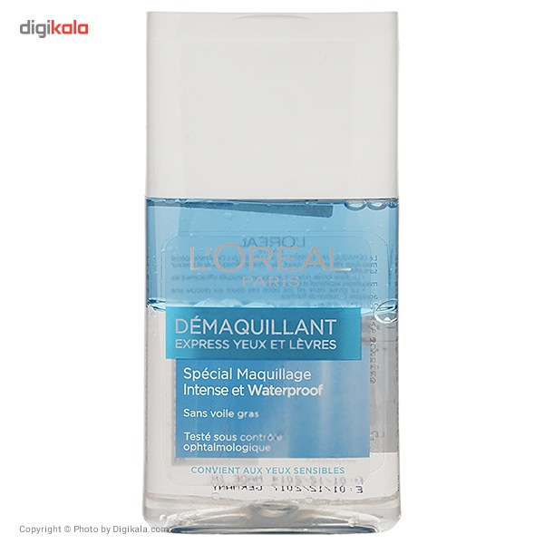 پاک کننده آرایش 2 فاز چشم و لب لورآل مدل Demaquillant