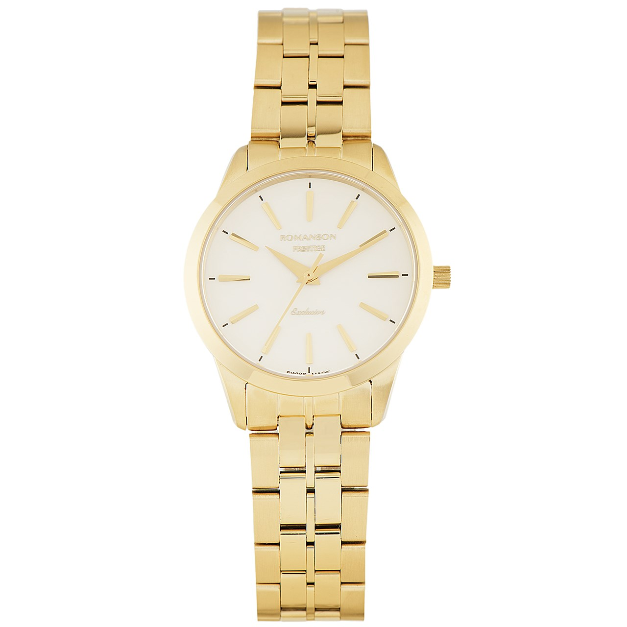ساعت مچی عقربه ای زنانه رومانسون مدل TM3256LL1GA11G