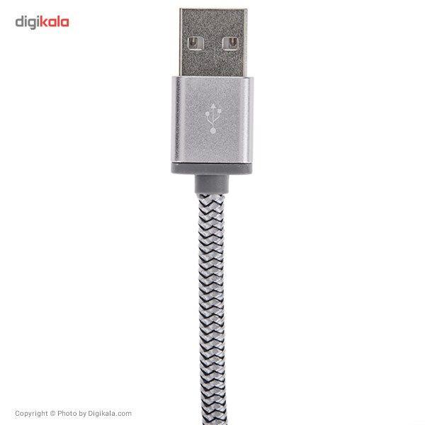 کابل تبدیل USB به microUSB الدینیو مدل LS17 طول 2 متر main 1 2