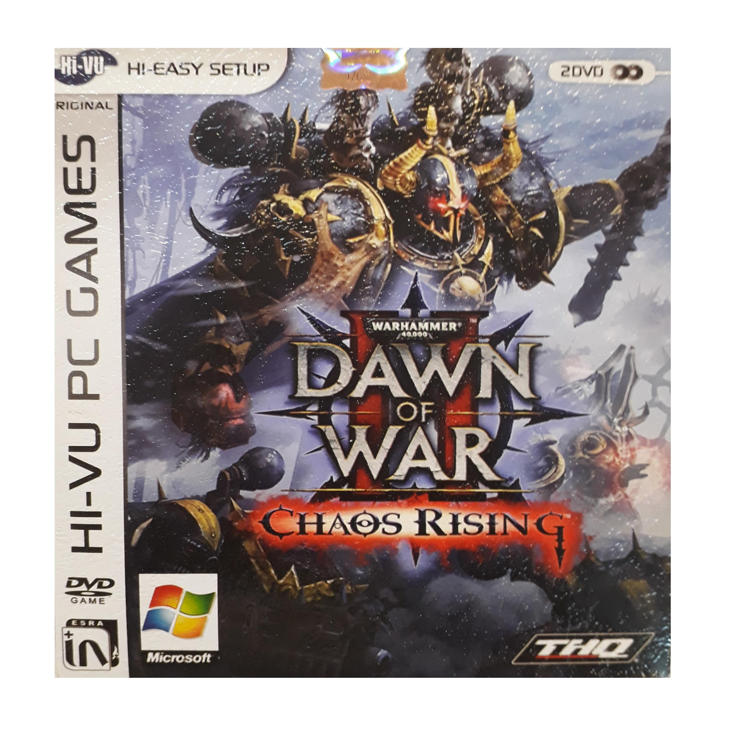 بازی dawn of war II chaos risingمخصوص pc