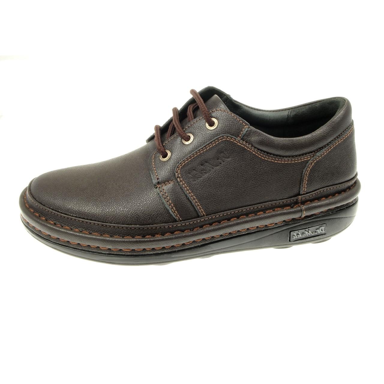 کفش چرم مردانه پامی مدل 02C