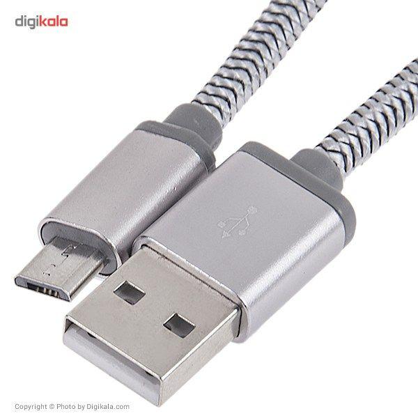 کابل تبدیل USB به microUSB الدینیو مدل LS17 طول 2 متر main 1 4
