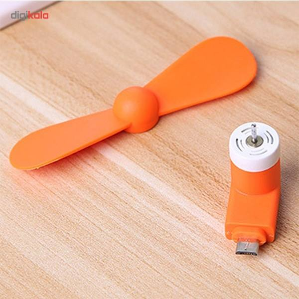 پنکه همراه مدل OTG Mini USB main 1 9