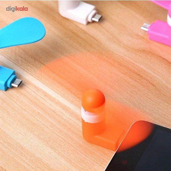 پنکه همراه مدل OTG Mini USB main 1 11