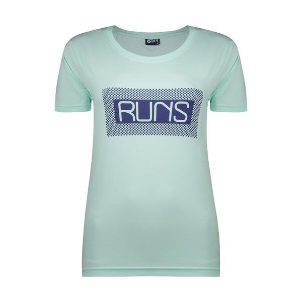 تی شرت  ورزشی زنانه بی فور ران مدل 210321-54
