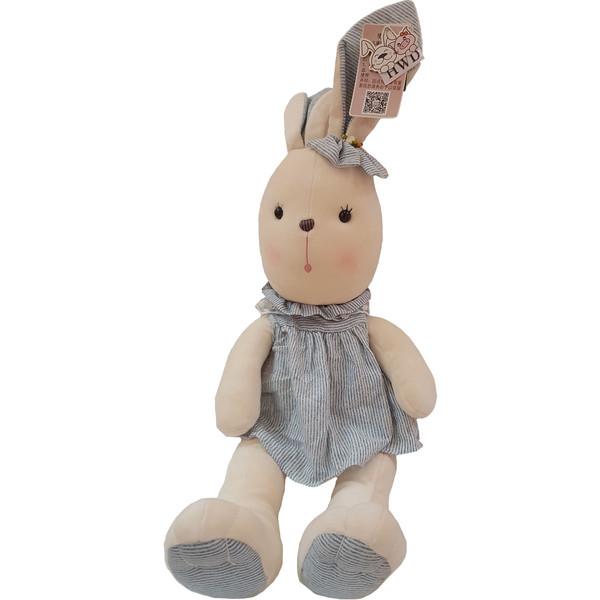عروسک اچ دبلیو دی طرح خرگوش دخترا رتفاع ۷۵ سانتی متر