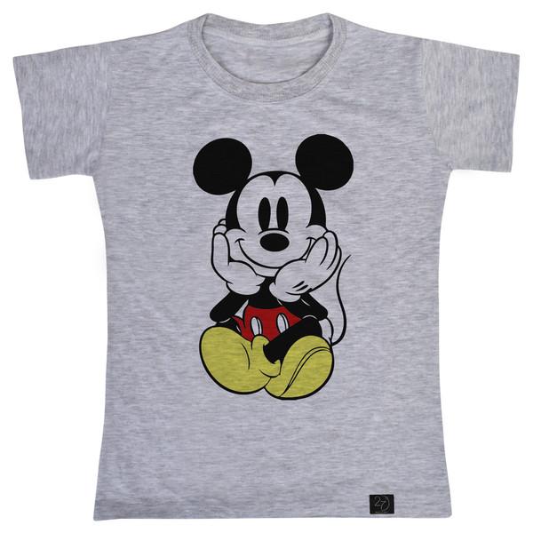 تی شرت پسرانه 27 طرح میکی موس کد V08