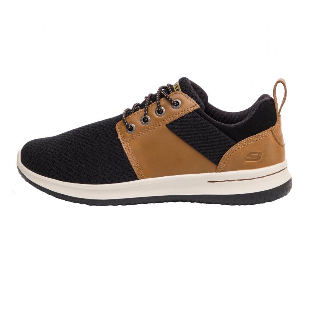 کفش پیاده روی مردانه اسکچرز مدل  Delson-Brant