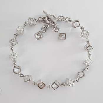 دستبند زنانه ژوپینگ مدل مکعب کد XP304
