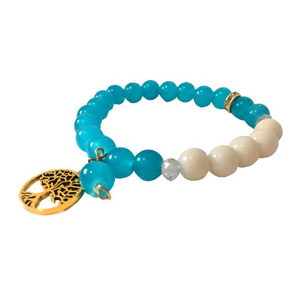 دستبند دخترانه مدل چنار کد 7