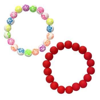 دستبند دخترانه کد DB01 مجموعه 2 عددی