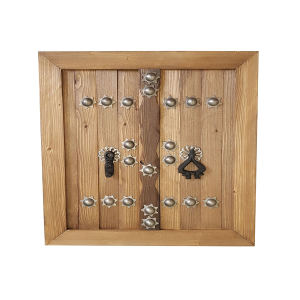 دیوارکوب چوبی مدل درب سنتی کد 25