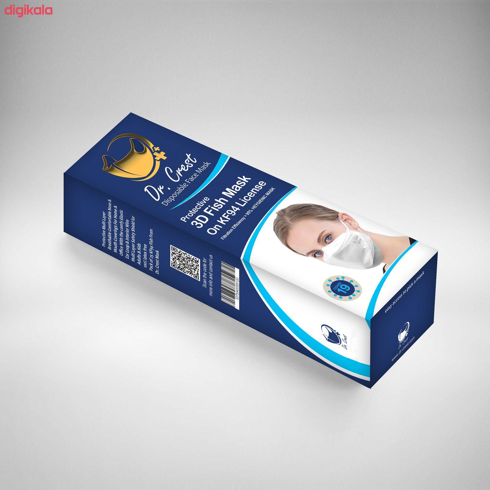 ماسک تنفسی دکتر کرست مدل Drc-3D-40 main 1 3